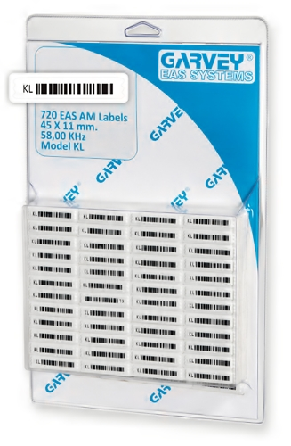 720(AM) BARCODE LABEL (KL)