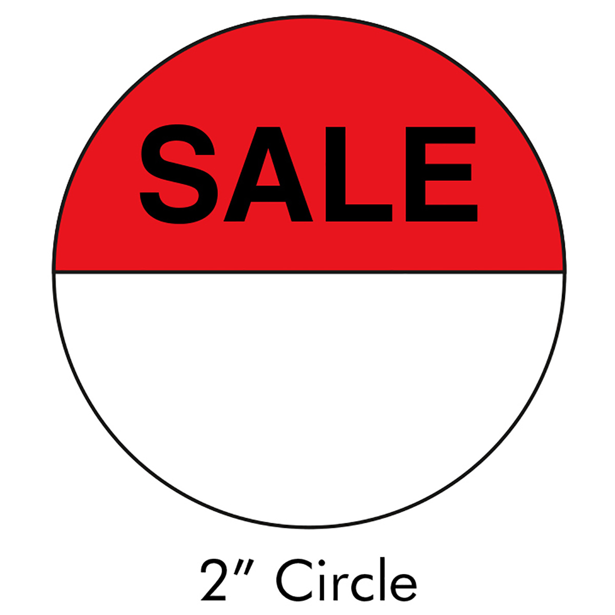 "2"" Sale Sticker"