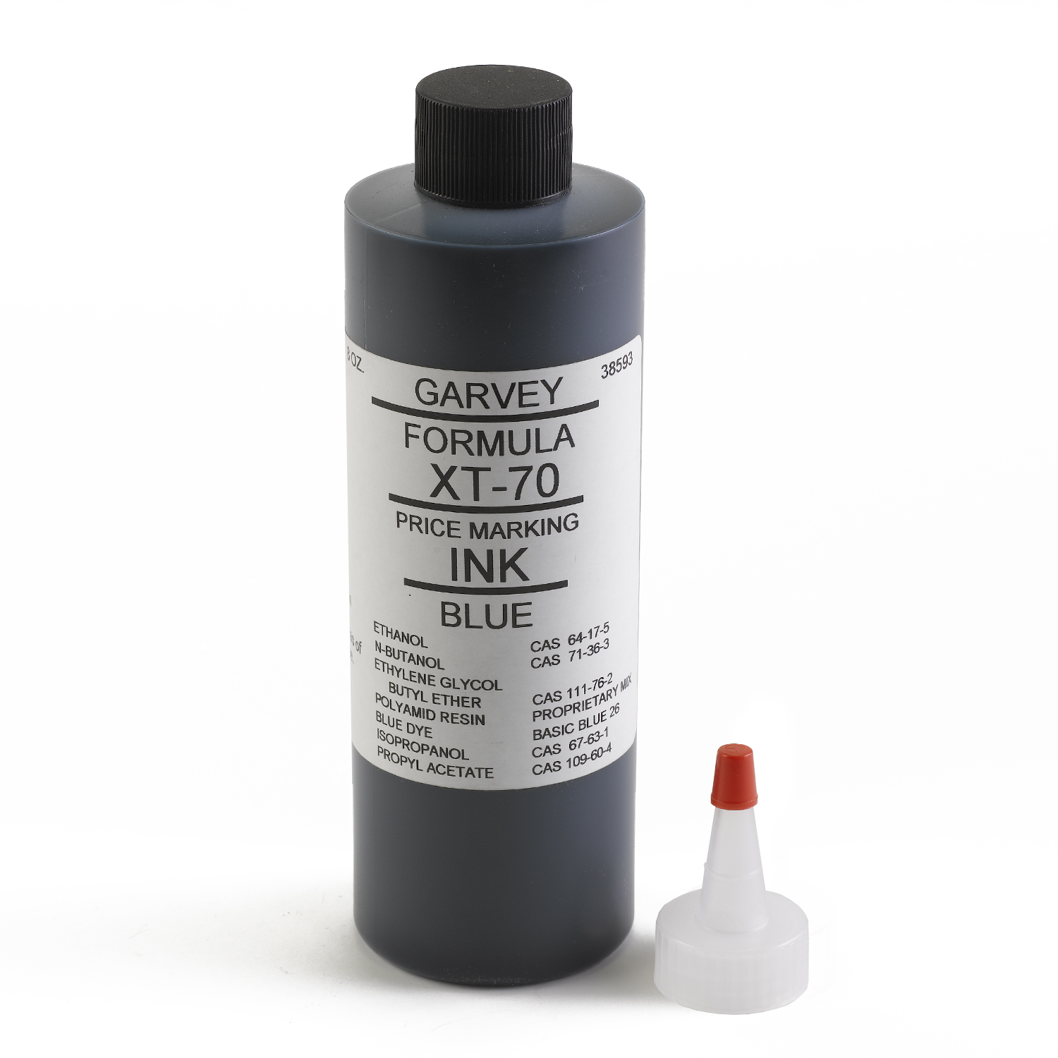 Garvey Blue Price Marking Ink 8 oz - INK-38593