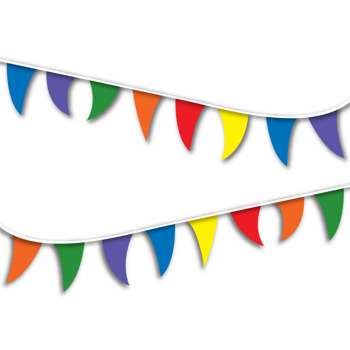 FLAGS/STREAMERS - MULTI-COLOR - 098182