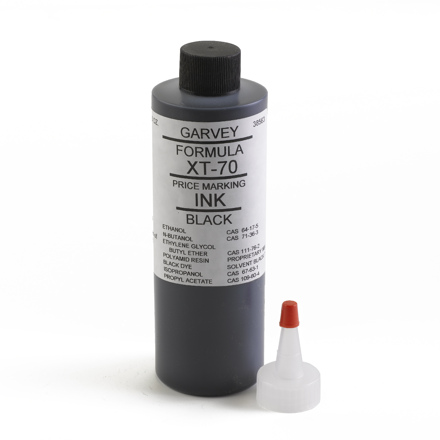 Garvey Black Price Marking Ink 8 oz - INK-38563
